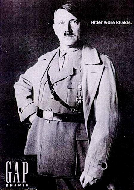 Hitler wore khakis