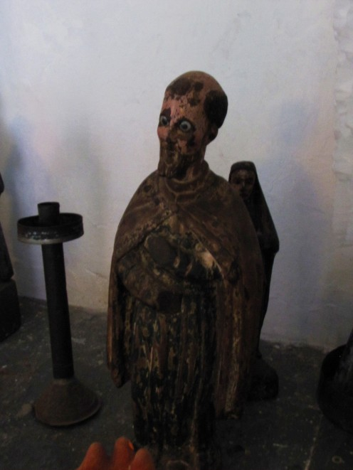 Santo en Museo Na Bolom
