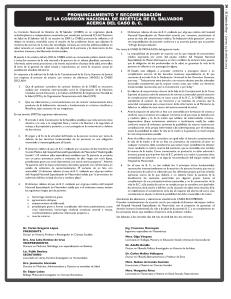PRONUNCIAMIENTO COMISION DE BIOETICA