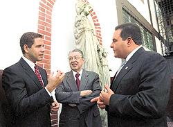 Los Altamirano con Tony