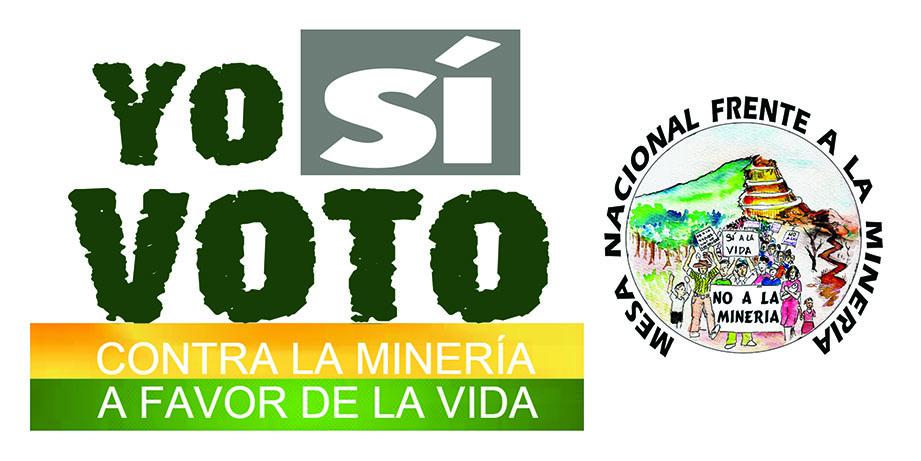 Yo si voto contra la minería