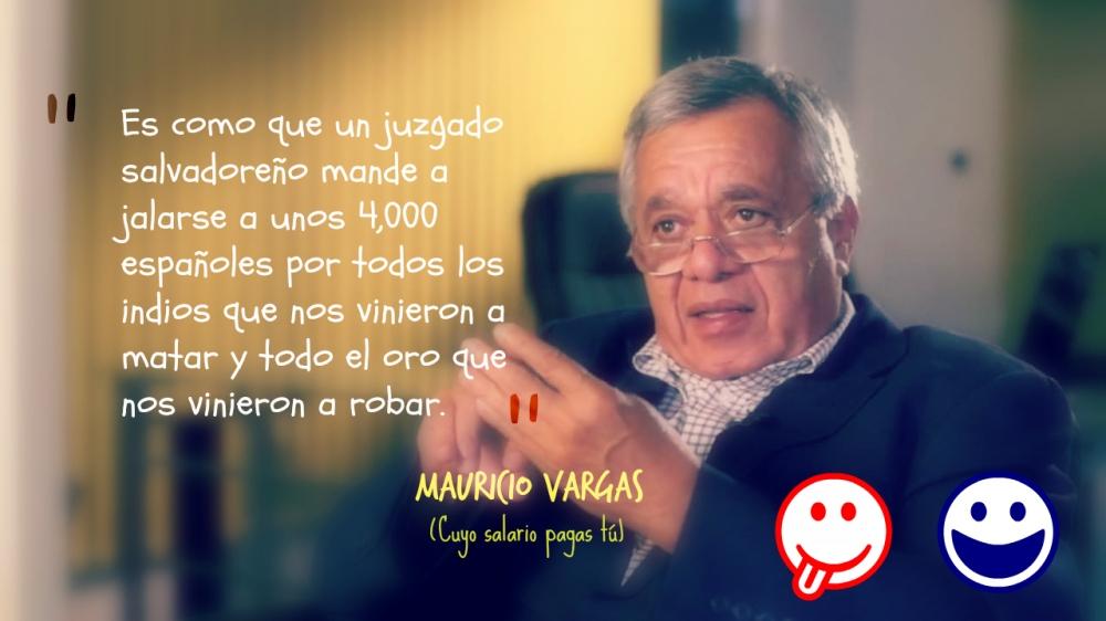 Mauricio El chato Vargas El Salvador