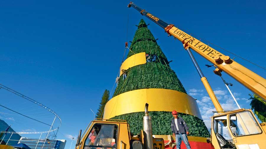 árbol navideño San Martín