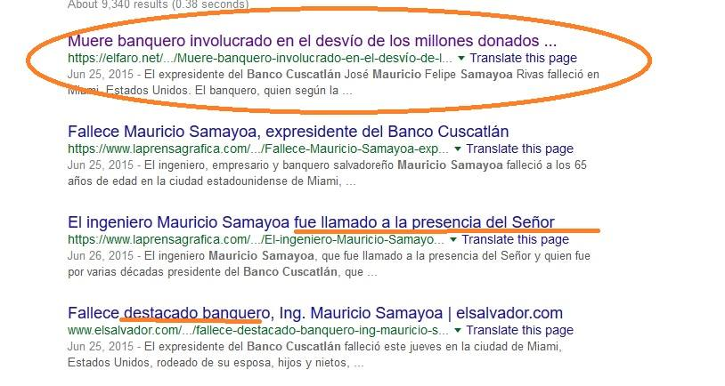 Mauricio Samayoa banco cuscatlan